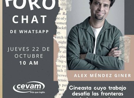 Artist Talk at Cine Club CEVAM
