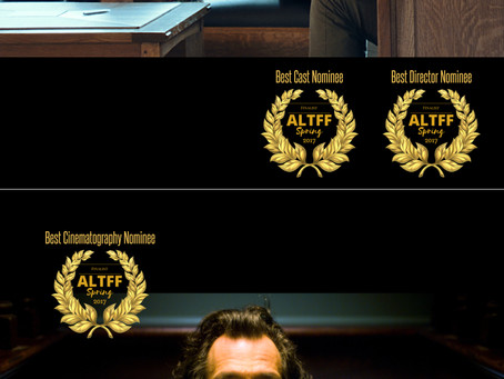 """""""GLUE"""" and """"The Book of Judith"""" Nominated at the Alternative Film Festival in To"""