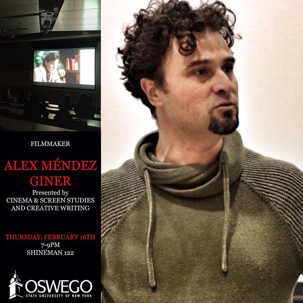 Guest Speaker at SUNY Oswego