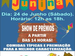 Festa Junina já tem data marcada!