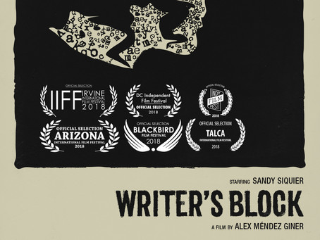 Writer's Block Available at the Cannes Short Film Corner