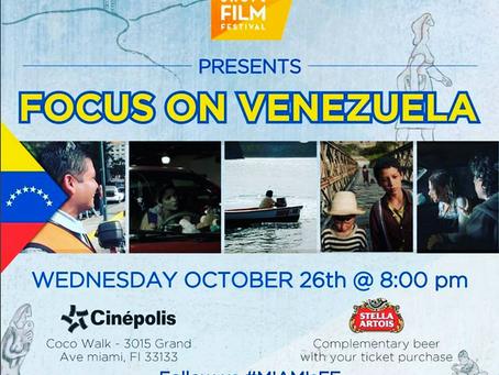 "CENTRIPETAL at Miami Short Film Festival Retrospective ""Focus on Venezuela"""