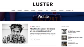 Interview in Luster Magazine: Film as a Narrative Experiment