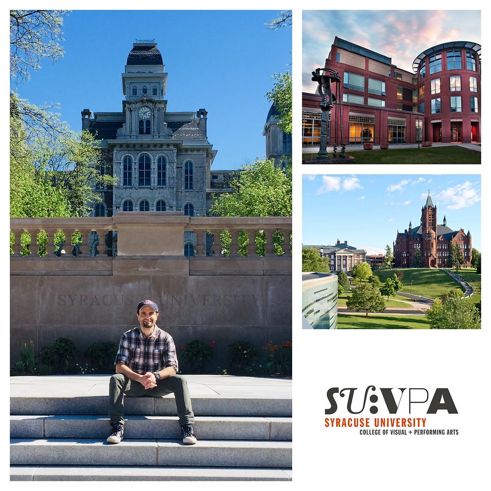 Tenured at Syracuse University