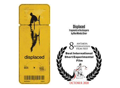 Displaced Wins Best International Experimental Short Film in Turkey
