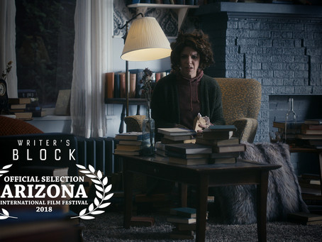Writer's Block Official Selection at Arizona International Film Festival