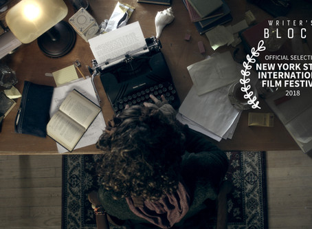 Writer's Block Official Selection at New York State International Film Festival