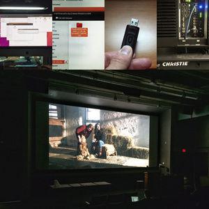 Digital video dcp