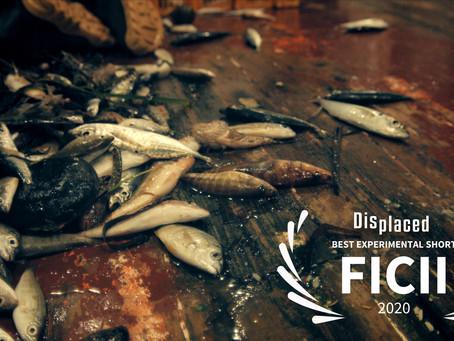 Displaced Awarded Best Experimental Short Film at FICII 2020