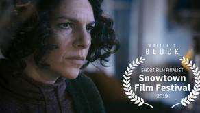 Happy New Year! Writer's Block Finalist at Snowtown Film Festival