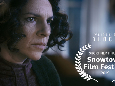 Happy New Year! Writer's Block Finalist at Snowtown Film Festival