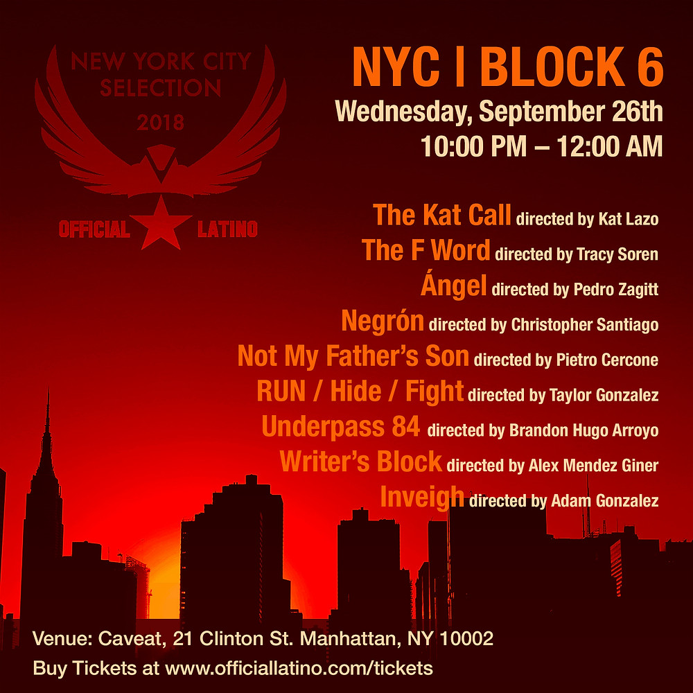 New York Screenings. Official Latino Film Festival