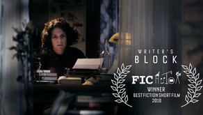 WINNER. Writer's Block Wins Best Fiction Short Film at Author's International Film Festival
