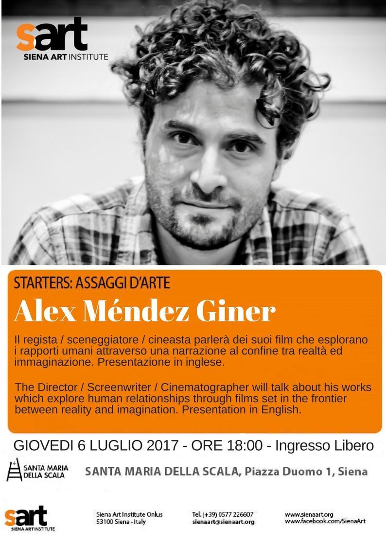 Alex Mendez Giner at Santa Maria Della Scala