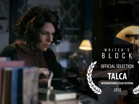 Writer's Block in Chile at 14th Talca International Film Festival