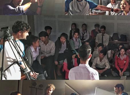 Artist Talk and Workshop in Vientiane, Laos