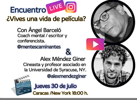 Instagram Live with Ángel Barceló