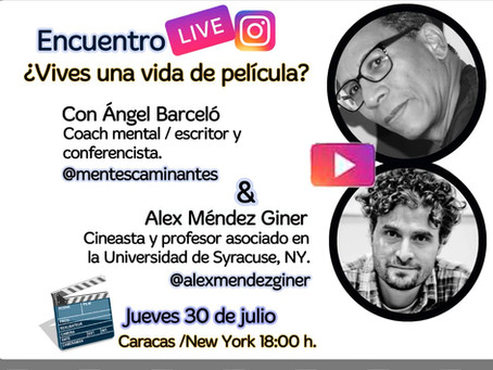Instagram Live with Ángel Barceló