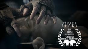 Writer's Block Official Selection at Buffalo International Film Festival
