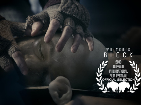 Writer's Block Official Selection at Buffalo International Film Festival