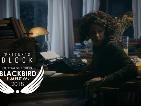 Writer's Block and The Book of Judith at Blackbird Film Festival