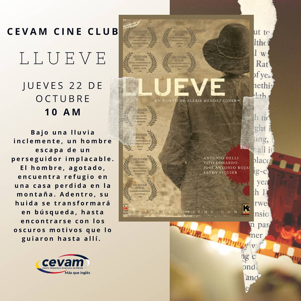 Alex Mendez Giner Artist Talk at Cine Club CEVAM