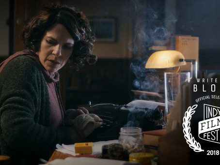 Rolling Start in Indianapolis! Writer's Block Official Selection at Indy Film Fest