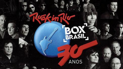 """DVD """"Rock in Rio 30 anos"""""""