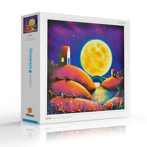 Golden Moon River - Showpiece Jigsaw (1600 piece)