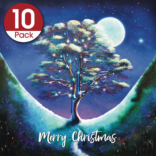 Christmas card - 10 pack