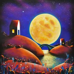Golden moon river