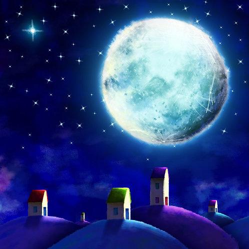 Big Moon Card