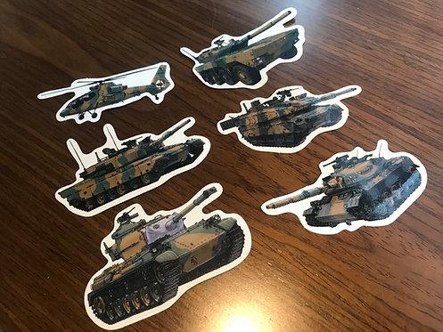 陸上自衛隊戦車セット