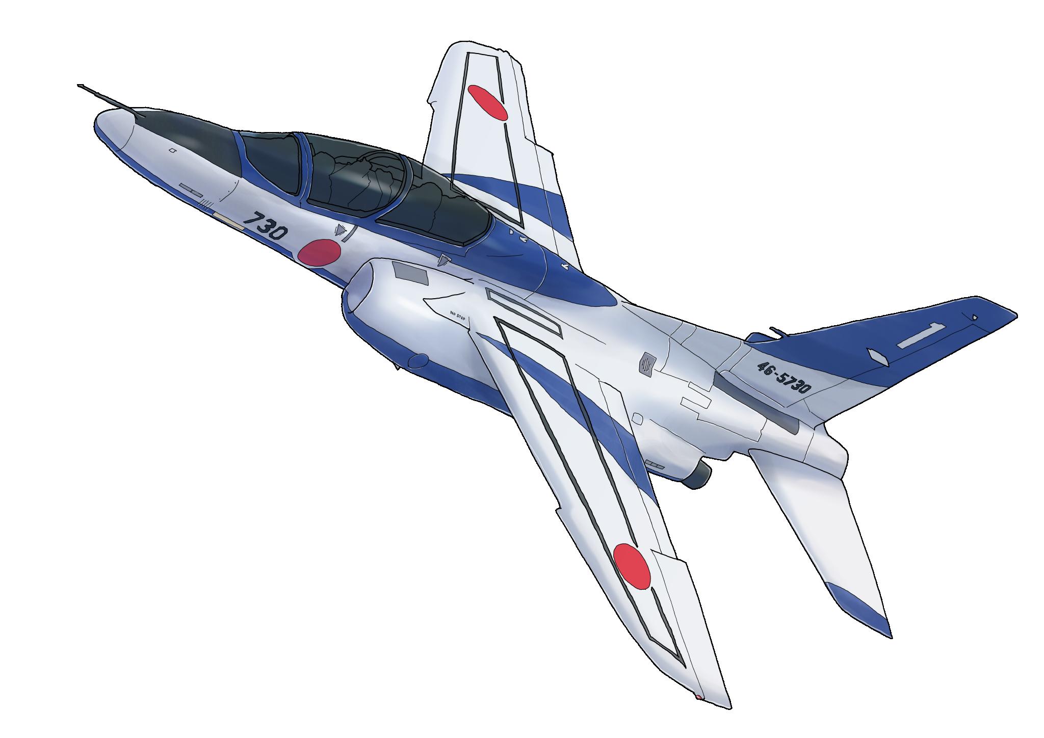 T-4ブルーインパルス