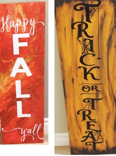October 26 Saturday Workshop – Wooden Sign Workshop