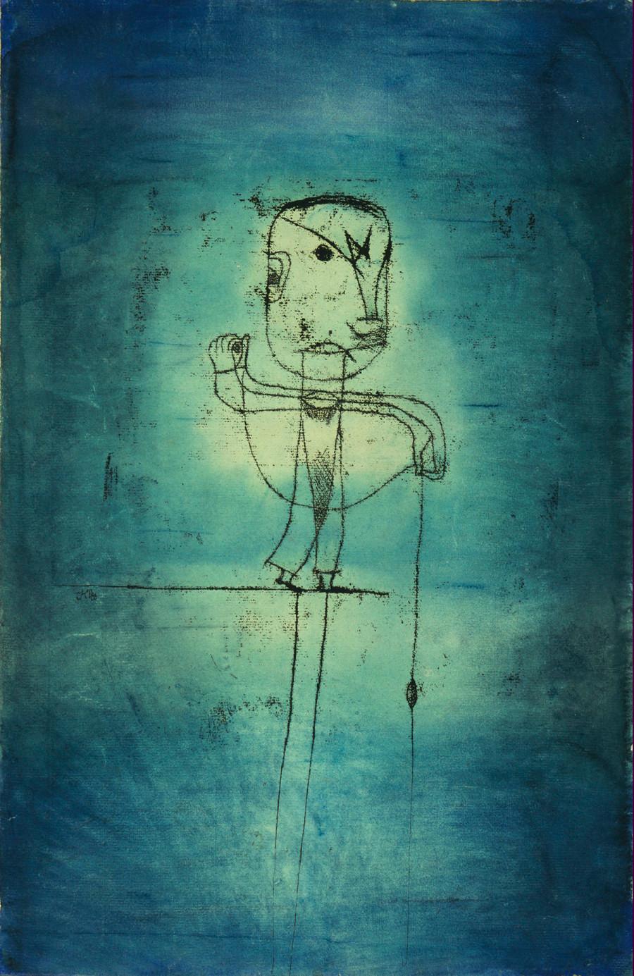 "Paul Klee, ""The Angler"" 1921"