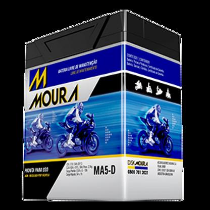Bateria Moto Moura MA6-D 6Ah