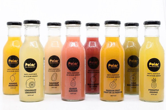 Case of 12 Mix & Match 100% Natural Fruit Juices
