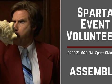 Seeking Event Volunteers