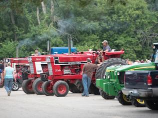 Tractor Brigade Through Sparta