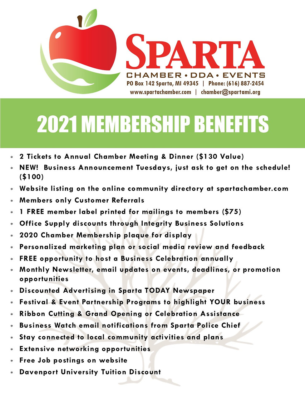 2021 Membership Packages List & Dues.jpg