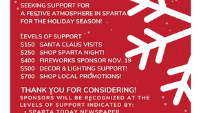Christmas in Sparta!  It's almost time!