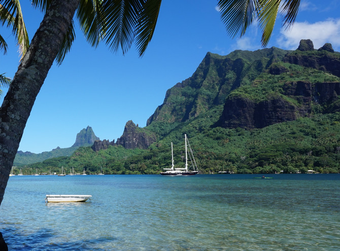 The beautiful island of Moorea