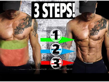Come Eliminare il Grasso Addominale in 3 Step (e quanto Tempo ci Vuole)