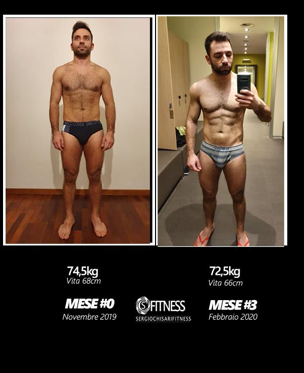 trasformazione 3 mesi