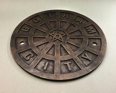 Gotham Manhole Cover