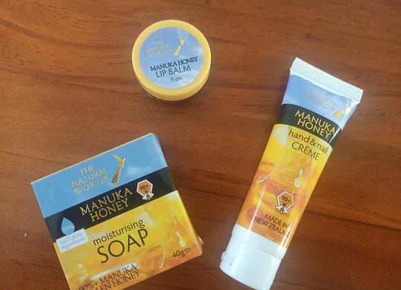 Manuka Honey Moisturising Gift Pack / Travel pack