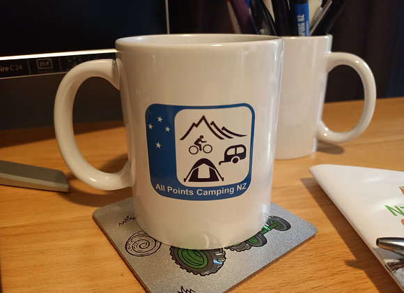 Coffee Mug with APCNZ logo