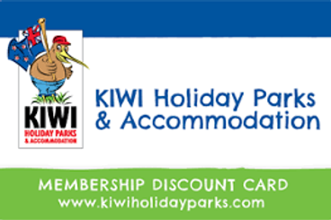 APCNZ - Kiwi Holiday Parks Discount Card