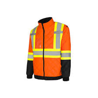 Duo Reflective Safety Quilted Jacket